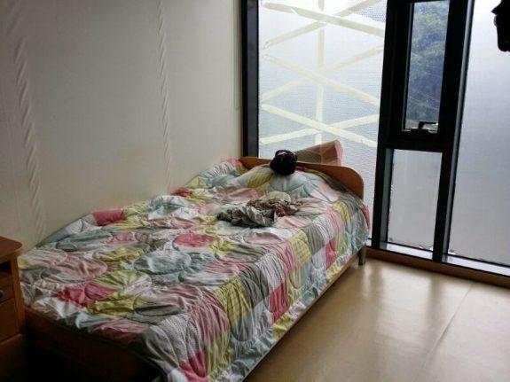 Моя кроватушка, хоть звездочкой разложись...))